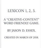 Lexicon 1,2,3. book cover